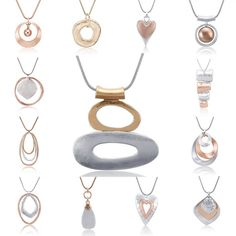 Necklaces – Page 3 – YazuStore Trendy Necklaces, Insta Look, Geometric Necklace, Ootd, Collars, Vintage Ladies, Jewelry Accessories, Fashion Jewelry, Pendants