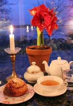Christmassy Tea time in Café Samovarbar