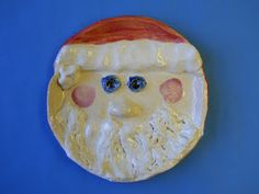 It's Santa Cookie Plate Time! I am posting this now because this project will take time to fire up in the kiln if you choose to do it. For...