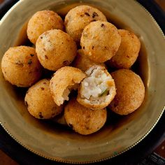 Arancini Risotto Balls by Andrew Rudd. | These tasty fried coated rice balls make a great light lunch or flavourful canapé.