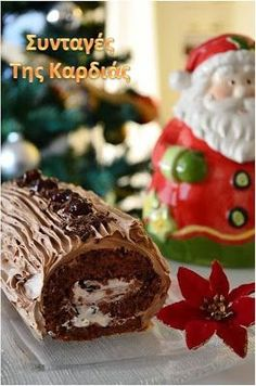 Greek Christmas, All Things Christmas, Christmas Time, Christmas Recipes, Group Meals, Greek Recipes, Nutella, Gingerbread, Good Food