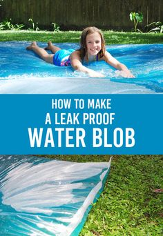 how to make a leak proof water blob from clumsy crafter