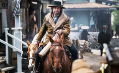 Pin for Later: 30 New and Returning Shows to Watch This Summer Hell on Wheels When it premieres: Saturday, July at 10 p. on AMC Cullen Bohannon (Anson Mount) is back for season five of AMC's intense western series. Anson Mount, Hell On Wheels, Season Premiere, Western Movies, Le Far West, Shows On Netflix, Best Tv, Rocky Mountains, Favorite Tv Shows