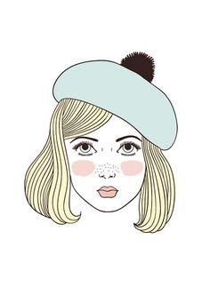 Lolita, luz de mi vida.  Andrea Barja. http://andreabarjailustraciones.tumblr.com/