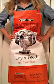 Tutorial: Make a Garden Apron from a Repurposed Feed Bag