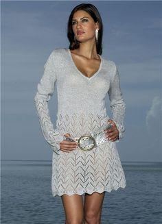 yazlık örgü elbise modelleri 1
