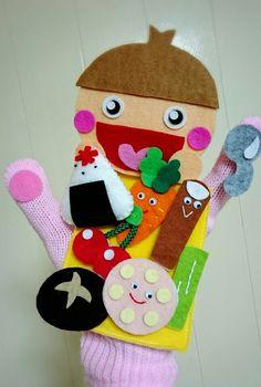定番の手袋シアターを追加しました♪ の画像 amicoの手袋シアター♪