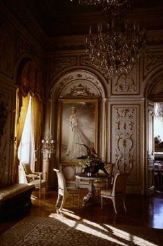 Mirror's Room in Palace of Monaco