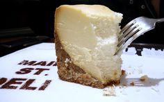 New York Cheesecake at Main Street Deli at The Langham, Hong Kong