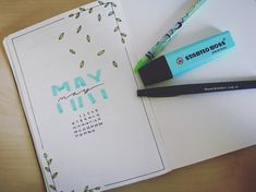 MAY!! #may #bulletjournal