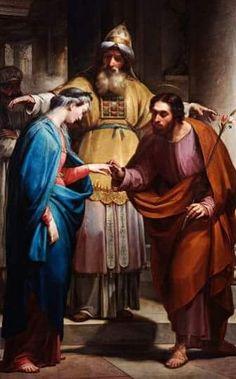 44 Ideas De Los Desposorios De San José Y La Virgen María Saint Joseph And Mary S Weeding Contrato De Matrimonio San José Virgen María