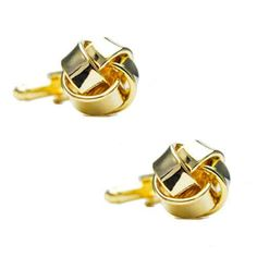 Matt Gold Knot Cufflinks finished in a gold rhodium plate. Classic and Sharp cufflinks for the professional. Free Black, Gold Wire, Knots, Cufflinks, Plate, Australia, Club, Classic, Stuff To Buy
