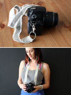 DIY Chic Custom Camera Strap | Brit + Co