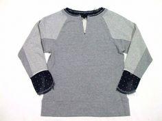 UNDER COVER◆チュールレイヤード切りっ放しトレーナーTulle layered sweat shirt(アンダーカバー)