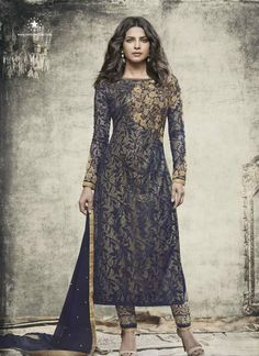 India Emporium provides you with a beautiful collection of casual and party wear salwar Kameez. We also offer designer salwar kameez that you can sport on special occasions. Bollywood Dress, Bollywood Fashion, Bollywood Suits, Bollywood Style, Bollywood Celebrities, Indian Dresses, Indian Outfits, Pakistani Dresses, Western Dresses