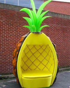 This is the best seat for a person to have!! Great for a fruit or pineapple themed room!