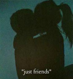 """Can we be """"just friends""""? I wanna be """"just friends"""". Mood Quotes, Life Quotes, Hurt Quotes, Wall Quotes, Bad Boy Quotes, Quotes Positive, Images Esthétiques, Friends With Benefits, Tumblr Quotes"""