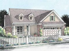 Eplans Country House Plan - Full of Comforts - 1274 Square Feet and 2 Bedrooms from Eplans - House Plan Code HWEPL75095