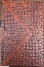 hand tooled leather hard back hand bound journal