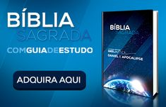 Adquira sua Bíblia Sagrada com estudo bíblico