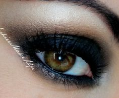 This Kim Kardashian inspired makeup is smoldering and sexy. A perfect look for a night out with your friends.