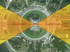 Must see: Sunrise at the Lincoln Memorial. The sunrise & sunset will be due east on Sept. 22nd.
