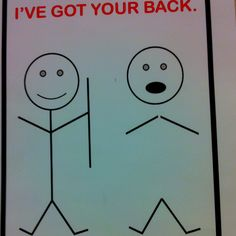 I've got your back. #chiropractic #humor
