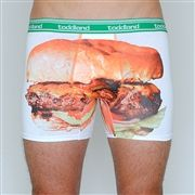 toddland knows most saturdays are booked for hamburger eating in your underwear. with these on, it won't be too obvious when you spill on yourself. you're welcome.