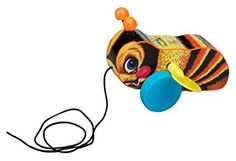 Fisher Price's Bouncy Bee pull-along Retro Toys, Vintage Toys, Old School Toys, Fisher Price Toys, Pull Toy, Bees Knees, Baby Games, Old Toys, Toddler Toys