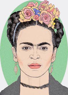 ༻❁༺ ❤️ ༻❁༺ Frida Khalo ༻❁༺ ❤️ ༻❁༺
