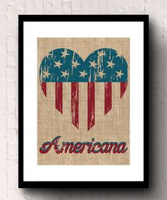 Burlap makes a great housewarming gift or a gift for any occasion from weddings, birthdays, to anniversaries. These unique eco friendly natural Printed Burlap, Printing On Burlap, Burlap Wall Decor, Great Housewarming Gifts, American Flag, Primitive, Eco Friendly, Birthdays, Rustic