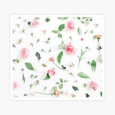 My Canvas, Canvas Prints, Art Prints, Clock Art, Cool Stickers, Green Flowers, Cute Designs, Flower Patterns, Home Art