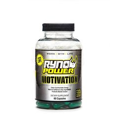 Ryno Power Motivation Supplement Capsules