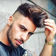 Top 25 Cool Brush Up Hairstyles for Men Mens Hair Colour, Hair Color Dark, Very Easy Hairstyles, Up Hairstyles, Popular Haircuts, Haircuts For Men, Medium Hair Styles, Short Hair Styles, Modern Pompadour