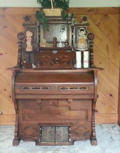 Vintage Antique Pump Organ 1880 by TimelessNewEngland on Etsy, $700.00