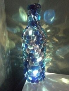 (how to...) Jeweled Bottle Night Light