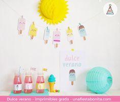 Kit de fiesta de #helados y #verano