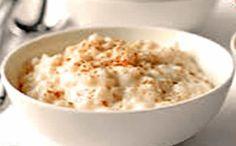 Receita arroz doce de couve flor para a fase cruzeiro PL dukan.