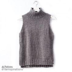 22e4dd96464bf7 Free Easy Knit Turtleneck Summer Knitting