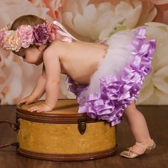 purple tutu dress baby, newborn girl coming home outfit purple, baby 1st birthday girl, 1st birthday smash cake outfit, NB-SIZE 12 T8A by VanahLynnDesigns on Etsy