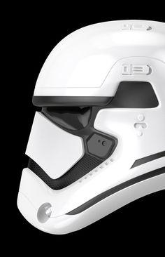 Ending Credits: Photo Moda Cyberpunk, Star Wars Vii, Helmet Design, Futuristic Design, Star Wars Characters, Cultura Pop, Industrial Design, Retro, Concept Art