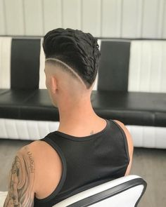 Men's Hair, Haircuts, Fade Haircuts, short, medium, long, buzzed, side part, long top, short sides, hair style, hairstyle, haircut, hair color, slick back, men's hair trends, disconnected, undercut, pompadour, quaff, shaved, hard part, high and tight, Mohawk, trends, nape shaved, hair art, comb over, faux hawk, high fade, retro, vintage, skull fade, spiky, slick, crew cut, zero fade, pomp, ivy league, bald fade, razor, spike, barber, bowl cut, 2018, hair t Trending Hairstyles For Men, Cool Hairstyles For Men, Boy Hairstyles, Haircuts For Men, Fade Haircut Styles, Hair And Beard Styles, Short Hair Cuts, Short Hair Styles, Medium Hair Cuts
