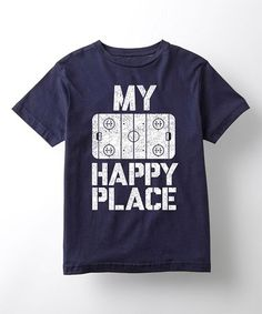 Another great find on #zulily! Navy 'My Happy Place' Tee - Toddler & Kids #zulilyfinds