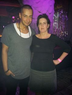 Angela Grahl and Farid