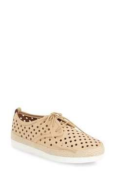Lucky Brand 'Tikko' Perforated Oxford (Women) available at #Nordstrom