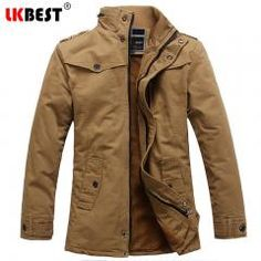 77ea00324fe6d    37 OFF   Lkbest 2017 New Trench Coat Men Thick Warm Single Breasted  Winter Men s
