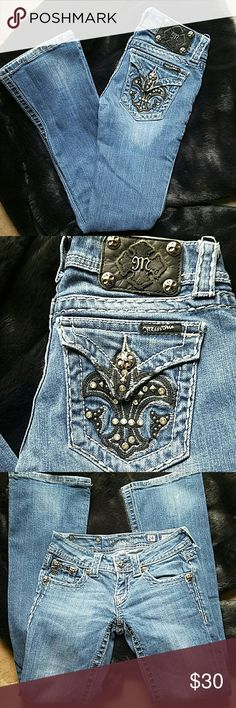 🔥🔥 MISS ME jeans 🔥🔥 It said inseam is 31 but it's 28 inches size is 24 Miss Me Jeans Boot Cut