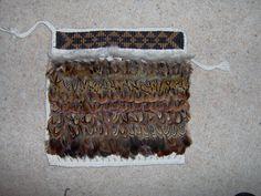 Pheasant and jute 2015 otago museum 2015 wedding 2014 matariki 2014 2014 Ella's korowai March 2013 . Flax Weaving, Weaving Art, Maori Patterns, Maori Designs, Weaving Designs, Paua Shell, Pheasant Feathers, Jute, Crochet Top
