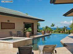 Kapalua Home For Sale: 124 Pulelehua Place, Kapalua, in Maui, Hawaii. A person can dream right?!!? LOL❤