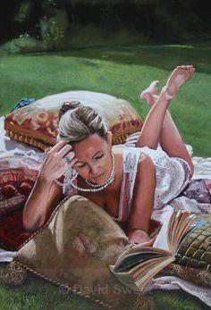 Summertime in Kircubbin II - Paintings